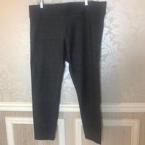 Anne Taylor Loft XL tweed leggings